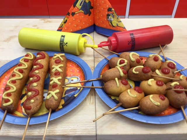 The best corn dogs ever!!