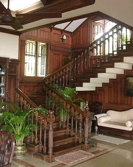 Staircase Design Of Famous Architects In Cochin Interior