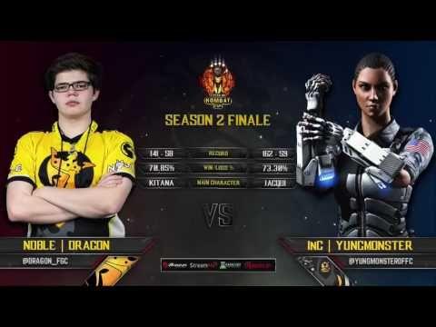 Mortal Kombat XL Kombat Cup Season 2 Finale Top 8 ft Semiij, Rewind, Dra...