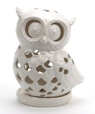 #Owl Candle Holder