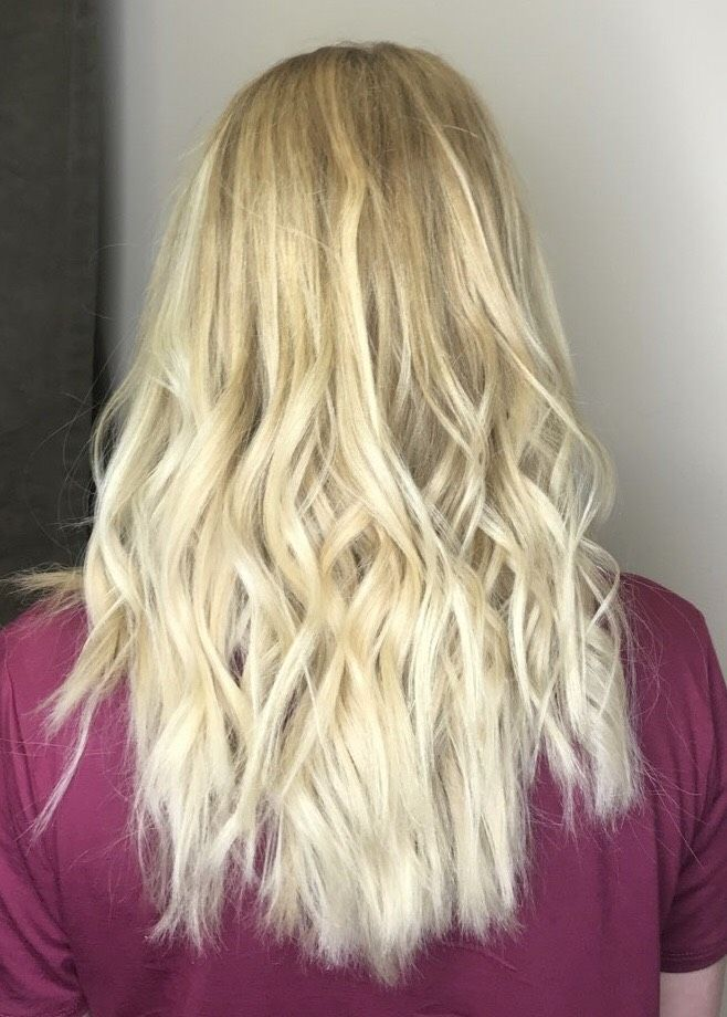 Blonde Balayage Done By Styles By Jamey C Panache Day Spa Greenville Nc Hair Greenvillenc Balayage Blonde Hair Styles Hair Long Hair Styles