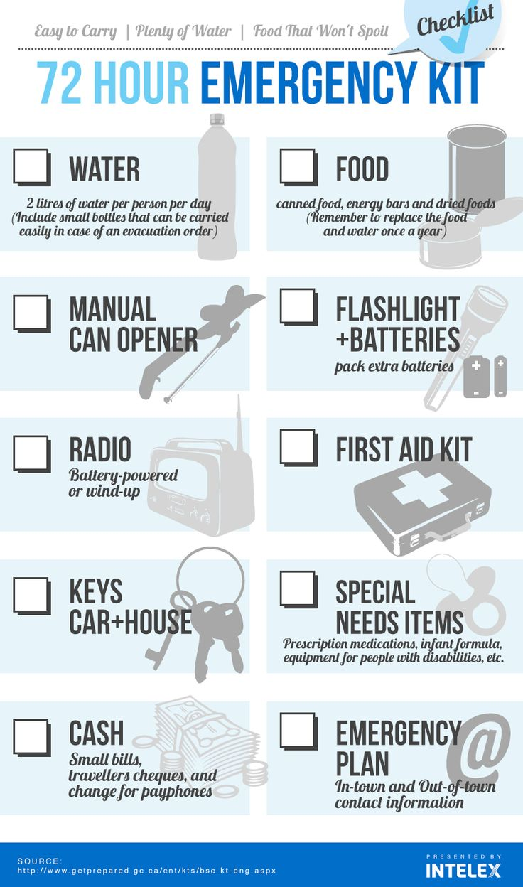 Emergency Kit Checklist - Many of our employees and clients living in and around Toronto are dealing with the effects of flooding and power outages from the recent torrential rainfall. Here's a useful Emergency Checklist to help make sure you've got what you need to weather the storm.