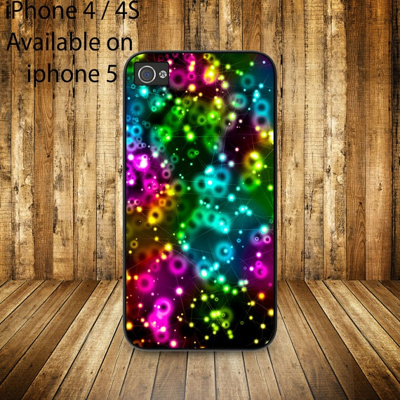 simple unique gift star colorfull star case for iphone by getiphonecase, $14.51