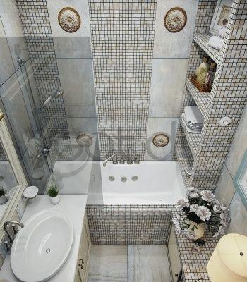 Ванная комната в стиле современной классики