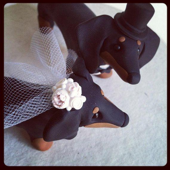 DEPOSIT for custom wedding cake topper by theaircastle on