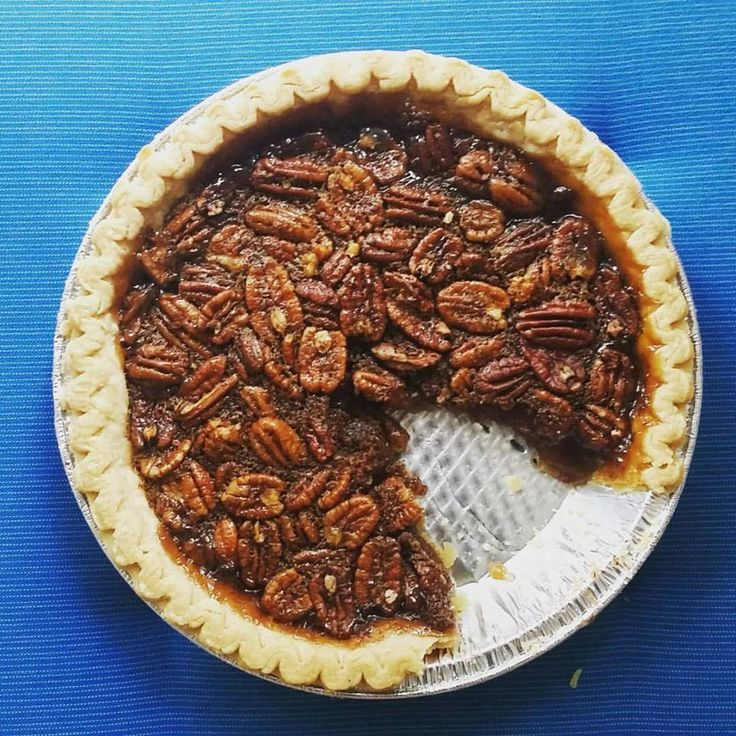 Vegan Pecan Pie - Two City Vegans