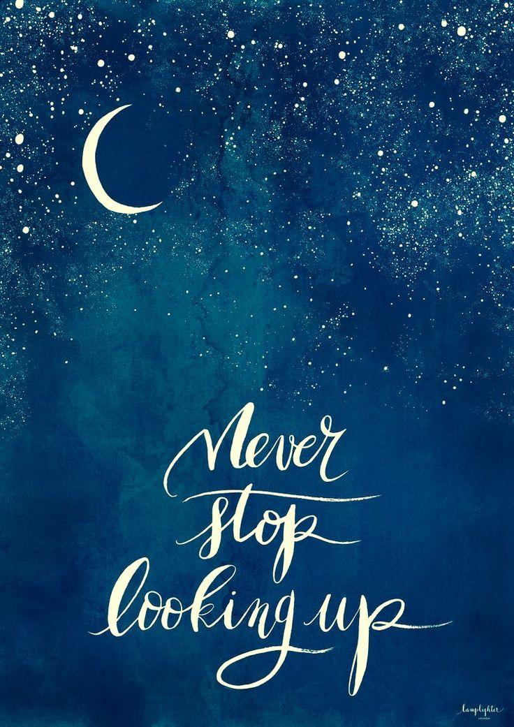 ♡ SUN, MOON, STARS ☆ Never Stop looking up