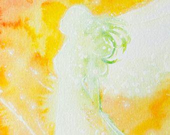 Titel: angel   -8 x 12 inch -glanzend -beperkte foto van een van mijn schilderijen   Engelen zijn lichte aard, die tot een hogere behoren geestelijke dimensie. Neem de beschermende kracht van de engelen bij u thuis. Nemen van hun liefdevol ondersteunende kracht in je leven.  Engel ons vergezellen op onze weg en inspireren iedereen van ons in een volledig speciale en individuele manier.  Ze beschermen en raken onze geest en onze ziel met liefde, teder en sterk ze geven ons hoop, doneren van…