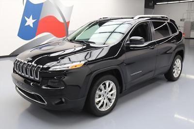 eBay: 2014 Jeep Cherokee Limited Sport Utility 4-Door 2014 JEEP CHEROKEE LTD HTD SEATS BLUETOOTH REAR CAM 24K #200285 Texas… #jeep #jeeplife