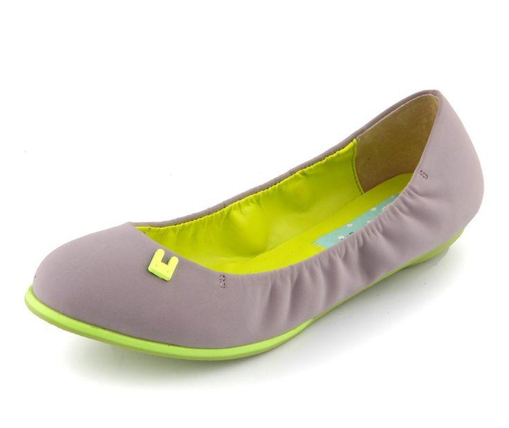 Neon Ariel Ballet Flats.