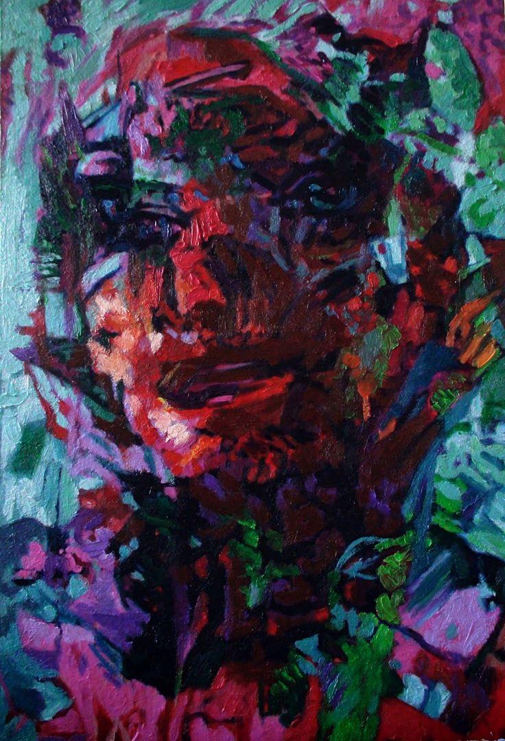 Faces, No. 1 | J.M.K ART