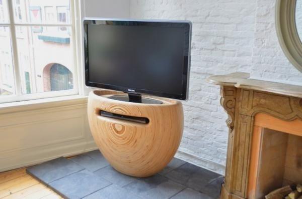 Деревянная подставка для телевизора «Bloom» - Сундук идей для ...