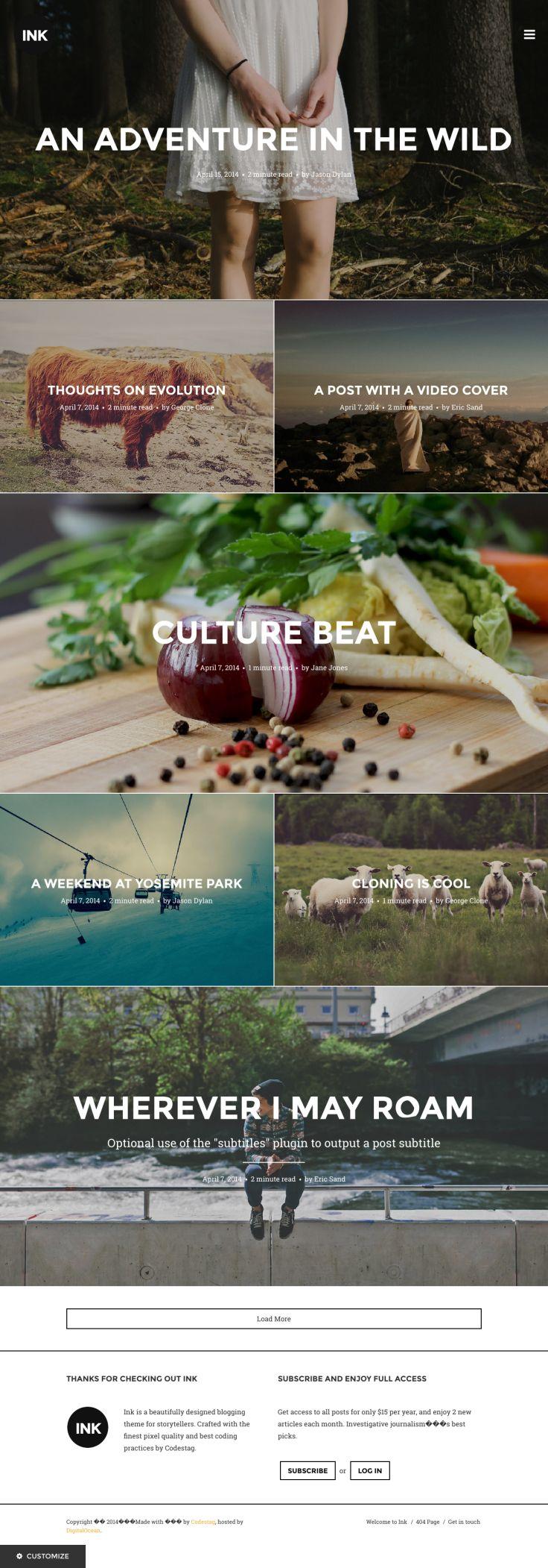 113 Best Wordpress Portfolio Themes Images On Pinterest