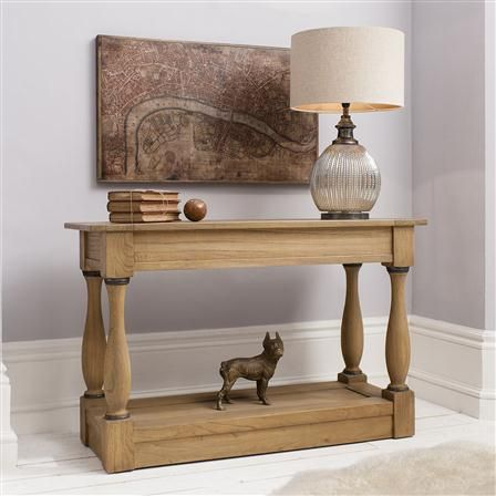 Cotswold Console Table, Natural | ACHICA