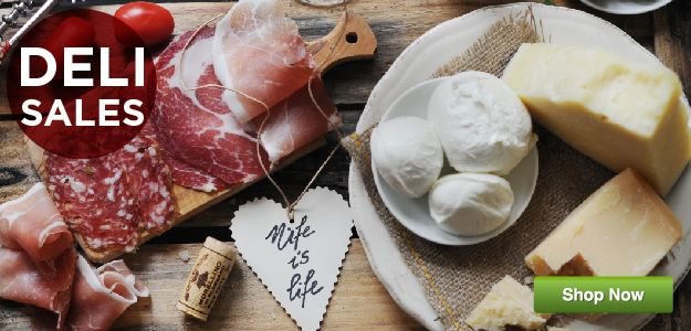 Italian food home delivery - Italian deli online