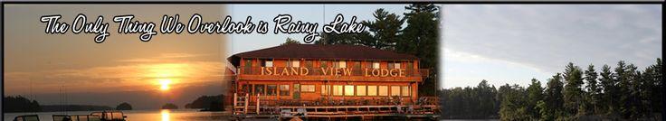 Rainy Lake Resort, 2nd choice If Thunderbird is booked.