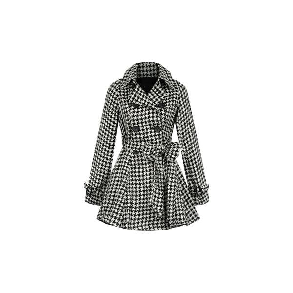 pleated houndstooth Victoria coat and other apparel, accessories and trends. Browse and shop 12 related looks.