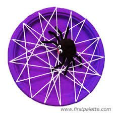 paper plate spider webs - Google Search