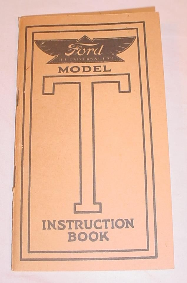 The 25 best ford owners manual ideas on pinterest 1913 sixth edition ford model t instruction book owners manual 1954 reprint fandeluxe Image collections