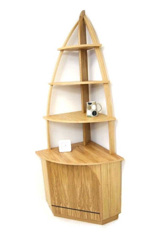 17 best ideas about corner shelf unit on pinterest apartment bedroom decor small apartment - Small corner shelf unit wood ...