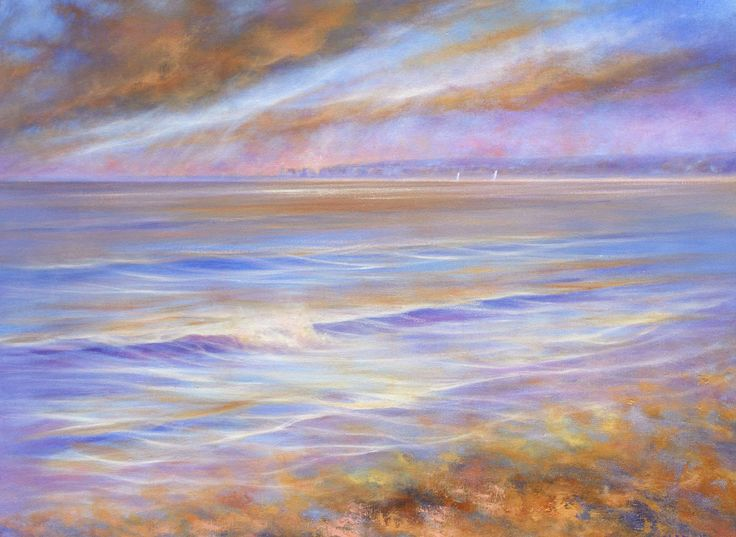 25 Artworks For Sea Lovers. A stunning collection of #paintings and #photography for coastal #bliss