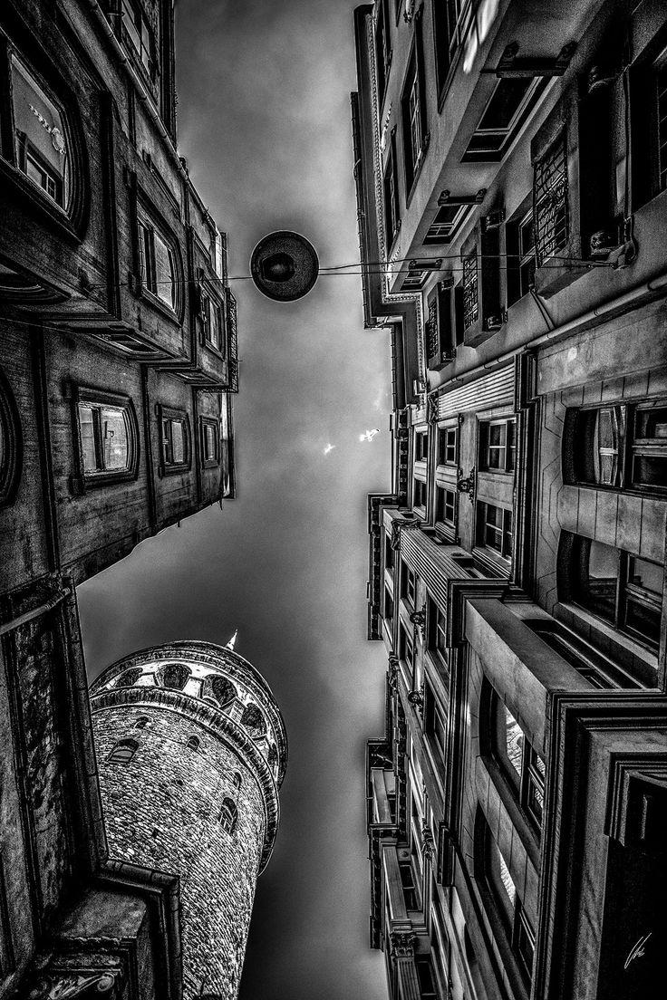 Galata tower by ufuk salur - Photo 206526671 / 500px. #500px #blackandwhite #schwarzweiss #noiretblanc #siyahbeyaz #monochrome #city #people #street #travel #light #istanbul #old #vintage #urban #architecture #building #shadow #history #art #home #library #galatatower #medievalstonetower #turkey #galatakulesi #türkiye