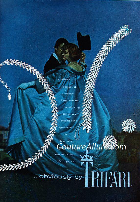 High Fashion Ads 1950