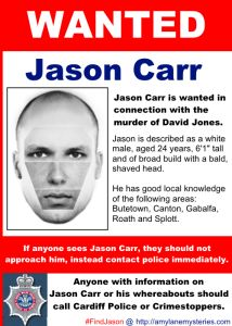JASON CARR. WANTED FOR MURDER. #FindJason in Code Runner - launching today!