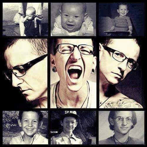 The EVALUATION of Chester Bennington, from baby to the man he is today! 👶🚹🎤lp