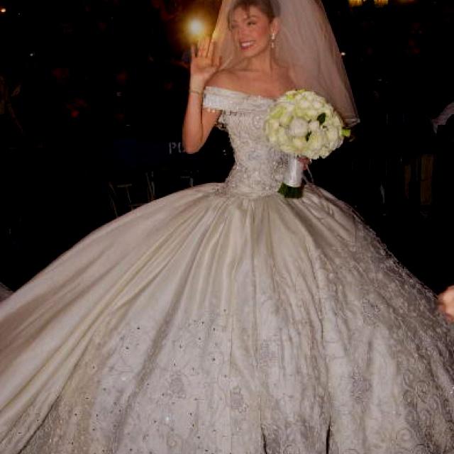 Cinderella style wedding dress hair beauty that i love for Cinderella inspired wedding dress
