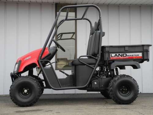 This brand new Landmaster LM300 is powered by a 4stroke