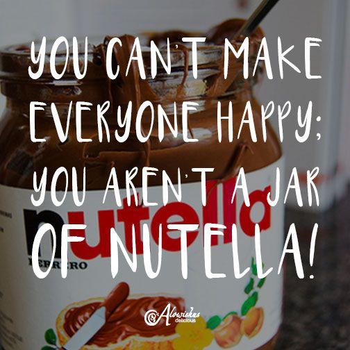 The truth #nutella #funny #quote #inspiration #motivation #mondaymotivation #alowishus #cafe #bundaberg