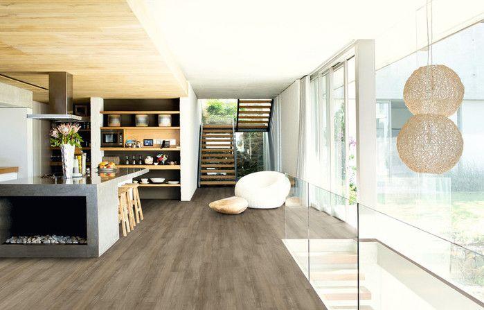 Expona Domestic, la nouvelle gamme de sol souple à coller d'Objectflor saura embellir vos intérieurs. Disponible en imitant bois, métal ou encore pierre, cette gamme s'adapte à tous vos projets. En effet, un large choix de coloris vous est proposé avec toujours une qualité irréprochable. Le revêtement de sol design est un revêtement de sol hétérogène en PVC, sans phtalates. Durable, simple et robuste toutes les caractéristiques d'un grand sol sont présentes.