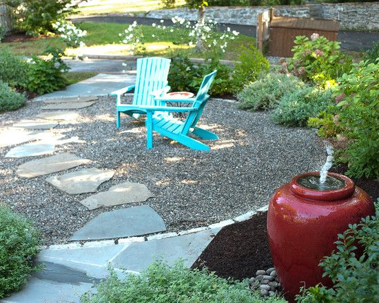 Best 25 gravel landscaping ideas on pinterest white for Large garden design ideas