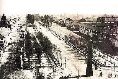 Alameda de las Delicias, hacia 1862, con el Obelisco de la Junta de 1810