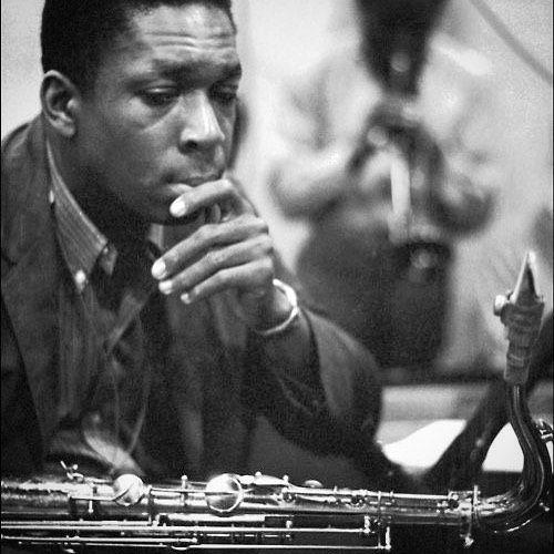 Happy Birthday 91st Birthday to the incomparable John Coltrane (in the background Miles Davis) September 23, 1926 – July 17, 1967 #Trane #Equinox #GiantSteps #MyFavoriteThings #YouAreTooBeautiful #LoveSupreme #LushLife #ButNotForMe #Legend #GOAT 🐐 #Icon #RIP 🎷