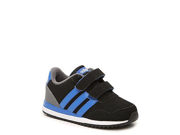 the best attitude 40652 a9912 Boys NEO V Jog Infant  Toddler Sneaker -BlackBlueGrey