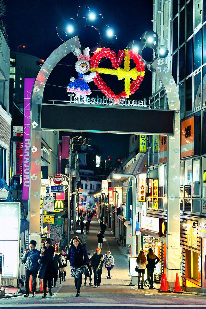 Takeshita Dori, Harajuku, Japan