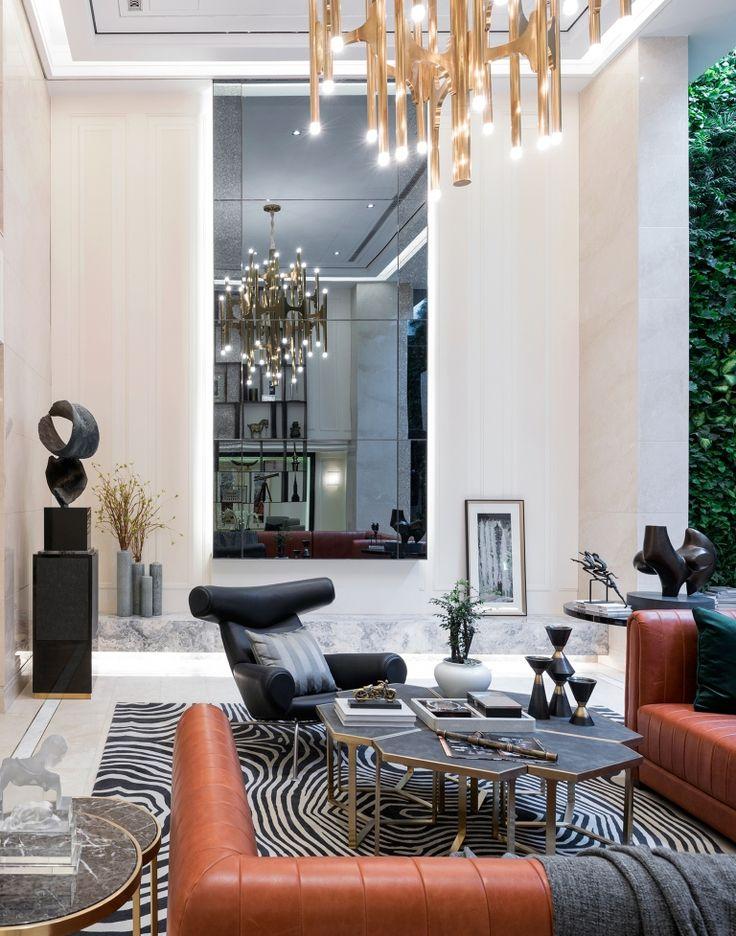 Interior Design/Shanghai Boyue Riverside/Example Room/Post Modern/The  Basement Room