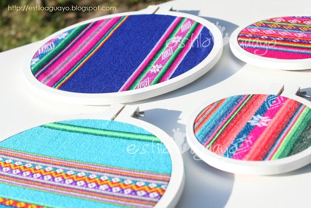 Estilo Aguayo: Diseños de Estilo Aguayo