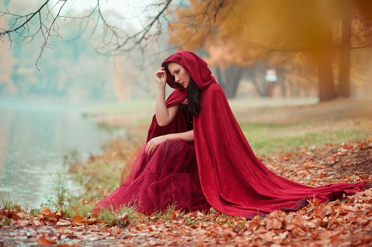 Red Riding Hood, fable, wolf, fairytale, forest fantasy