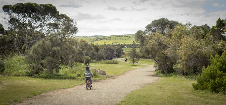 Part of the Encounter Bikeway that runs Victor Harbor to Goolwa.