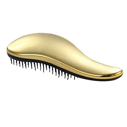 Contever® Professionnel Peigne Cheveux Anti-Statique à Défriser Peigne – Lisseur masseur (Or): Notrebrosseestidéalepourleshommes,des…
