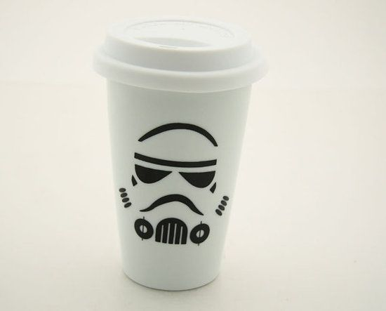 Stormtrooper travel mug $20 #stormtrooper #mug #coffee #starwars