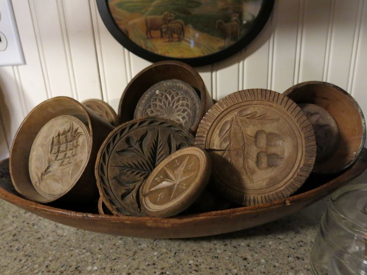 Butter stamps and molds