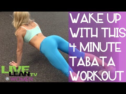 Full-Body 4-Minute Tabata Workout [Top.me] - YouTube