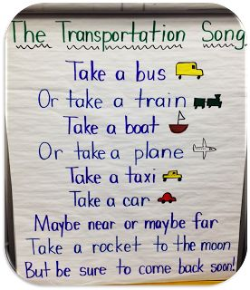Transportation poem