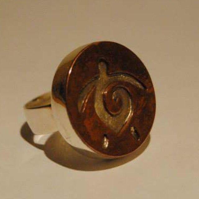 Otro anillo tortuga plata cobre