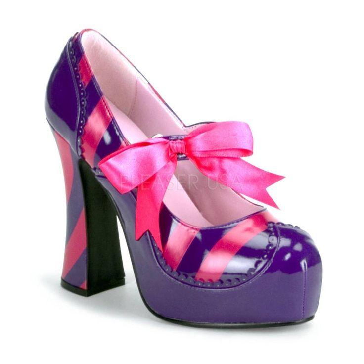 KITTY 32 ° Damen Pumps ° Violett Pink Glänzend ° Funtasma  #pumps #damenschuhe #fashion