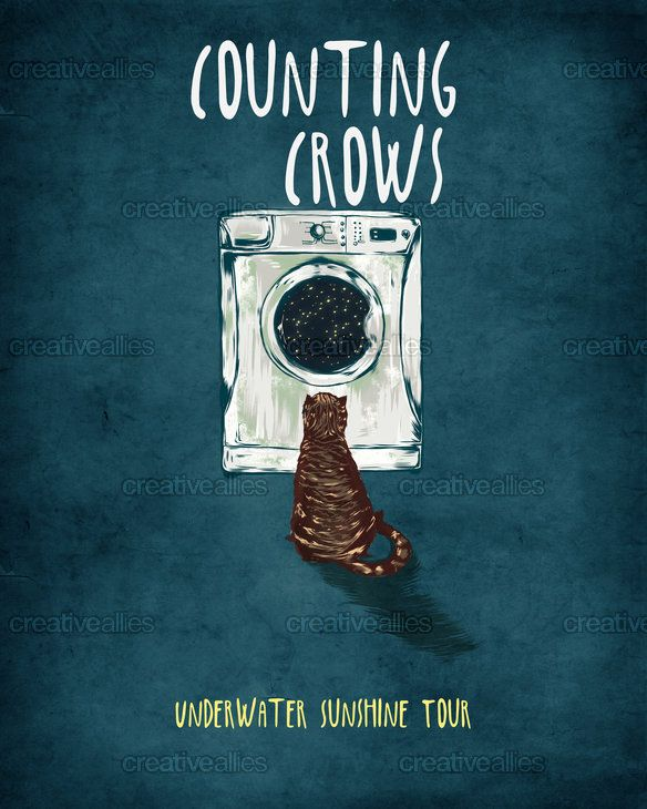 Counting Crows Poster by cucubaou on CreativeAllies.com